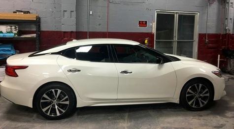 Nissan after repair at Certified Collision of Long Island, a Nissan Infiniti Certified body shop