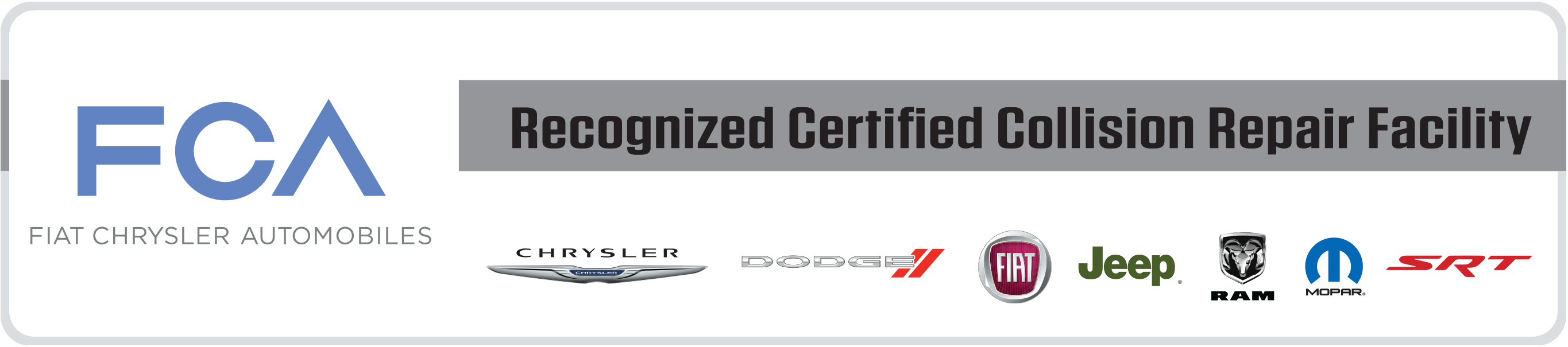 Certified Collision of Long Island is a Fiat - Chrysler - Jeep - Dodge certified Freeport NY collision shop