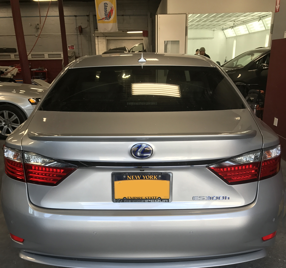 Certified Collision of Long Island is experienced on all luxury brands including Lexus