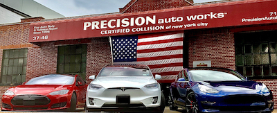 Precision Auto Works of LIC has three convenient locations for body work and auto repair.
