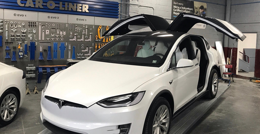 Certified Collision of Long Island is proud to be a Tesla Factory Trained and Certified Body Shop.