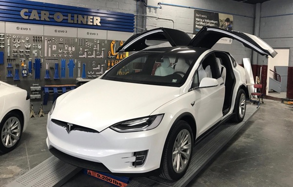 Certified Collision of Long Island is experienced on all luxury brands including TESLA